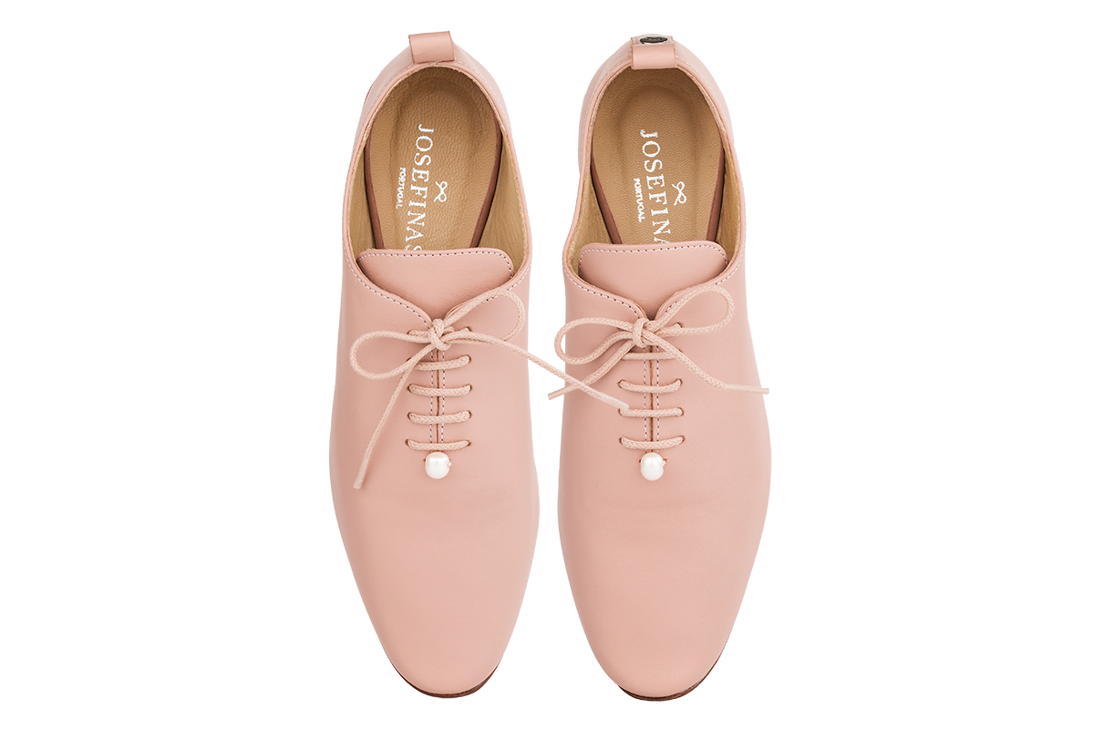 Josefinas Dancing Shoes Pink Pearl