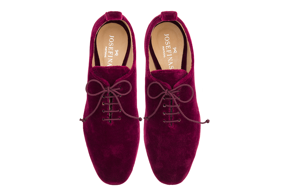 Josefinas Dancing Shoes Red Velvet